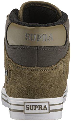 Supra Vaider Lc Sneaker Oliva / Demitasse / Bianco