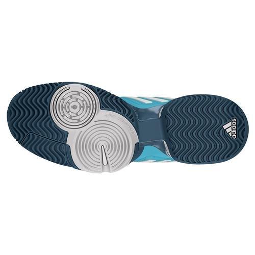 Adidas Mensen`s Novak Pro Tennisschoenen Blauwe Gloed En Wit (ba8012-s17) Blue