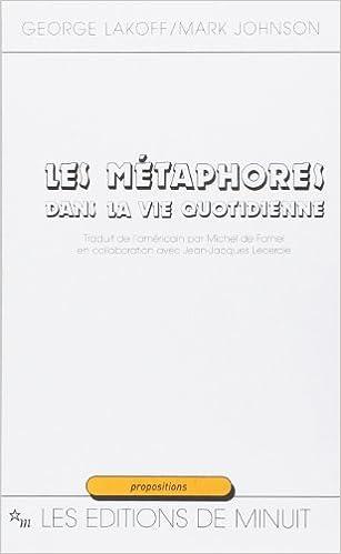 Livres gratuits Les métaphores dans la vie quotidienne epub, pdf