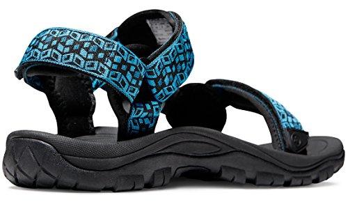 Atika Mens Sport Sandaler Maya Trail Utomhus Vatten Skor M110 / M111 (normal I Storlek) Vid-m111-unge