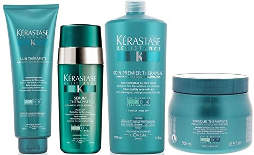 Pack Therapiste 8:bain 450ml+ Masque 500ml+ Premier 1000ml+ Serum 30ml Kerastase Good Care Hair