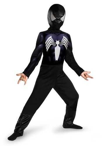 Black (Black Suit Spiderman Costume)