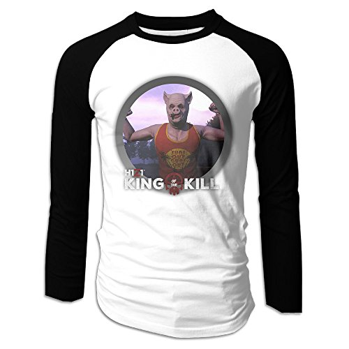 Price comparison product image SuperYY Men's H1Z1 King Of The Kill Raglan Baseball T-Shirt