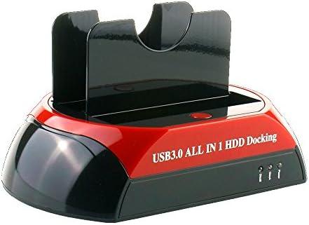 WANLONGXIN WLX-875U3-J USB 3.0 a SATA y IDE Dual Bahía Externo ...
