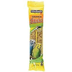 Vitakraft Parakeet Banana Sticks Treat, 1.4 Ounce Bag