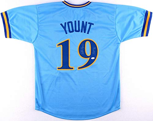 Authentic Milwaukee Brewers Jersey - Robin Yount Autographed