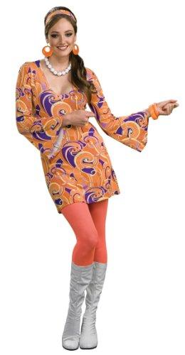Tangerine Go-Go Adult Costume - Womens