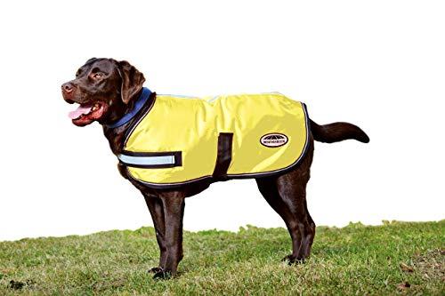 Cheap Weatherbeeta Reflective Parka 300D Dog Coat, Yellow, 32″