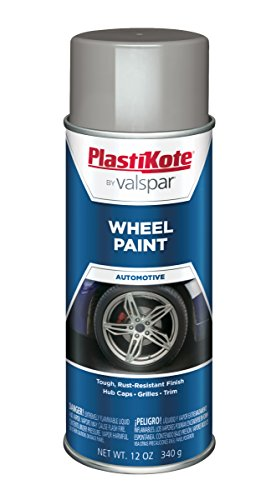 Paint Steel Wheels - PlastiKote 618 Steel Wheel Paint - 12 oz.