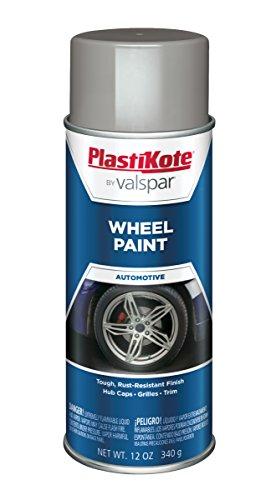 PlastiKote 618 Steel Wheel Paint - 12 oz.