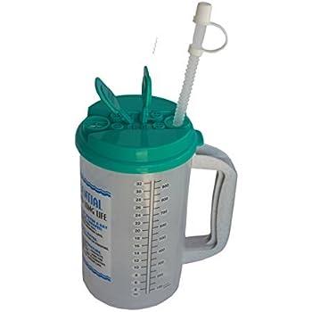 Amazon Com 32 Oz W E Insulated Cold Drink Hospital Mug