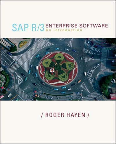 SAP R/3 Enterprise Software:  An Introduction