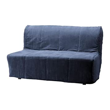 Ikea Lycksele Two Seat Sofa Bed Cover Henan Blue Amazoncouk