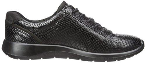 Ecco Vrouwen Zacht 5 Zijpit Fashion Schoen Black / Zwart