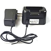 Smart Desktop Battery Charger for Icom Portable Radio F3011 F4011 F14 F24 F3021 F4021 F33GT F43GS F3161 F4161 BC-160