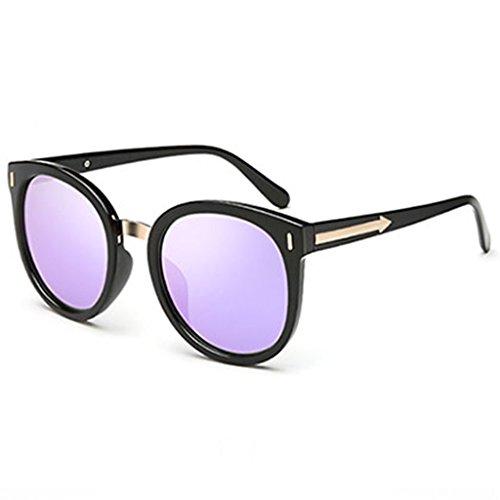DT Gafas personales Color Gafas 2 Big Sol Sol Gafas 1 de Box Purple Mujer Moda de rrxqdwO7
