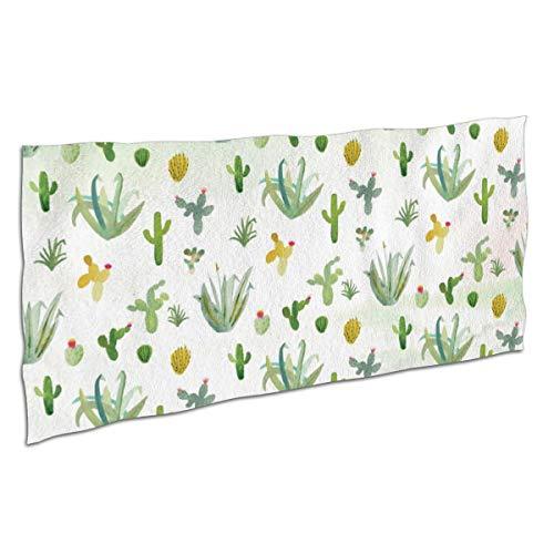 Kjhdgkshdd Cactus Wallpaper by Erika Firm Bath Towel32 x64 Super Absorbent, Soft £¬Close Skin ()