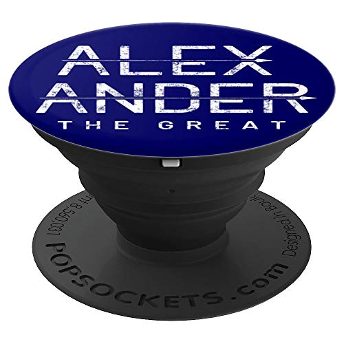 Alexander the Great Socket Strong Male First Name Gift - PopSockets Grip and Stand for Phones and Tablets