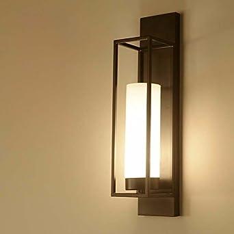 ZhuoYuan Salón chino Apliques Lámparas de cama dormitorio estudio ...