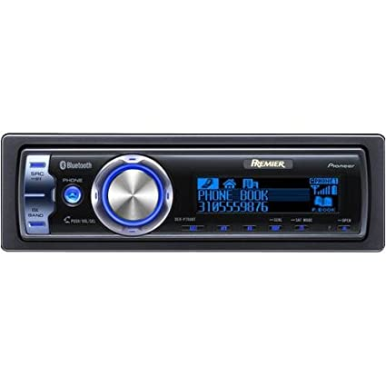 amazon com pioneer premier deh p790bt radio cd mp3 player rh amazon com Pioneer Car Stereo Pioneer Car Stereo
