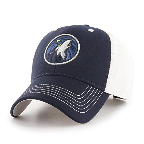 fan products of NBA Minnesota Timberwolves Sling OTS All-Star Adjustable Hat, Navy, One Size