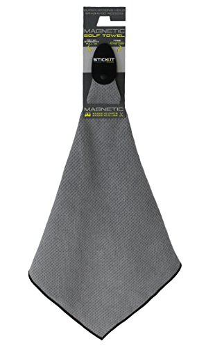 Monument Golf Stick It Magnetic Towel Grey by Leupold