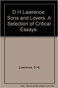 sons and lovers essays
