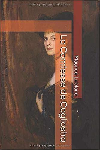 Amazon Com La Comtesse De Cagliostro French Edition