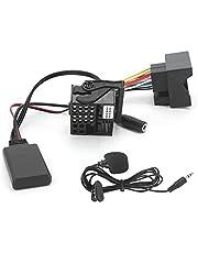 12V 59.1in Bluetooth 5.0-audio AUX Kabeladaptermodule met microfoon geschikt voor BMW E60 E63 E64 E65 E66 E81 E82 E87 E90 E91 E92