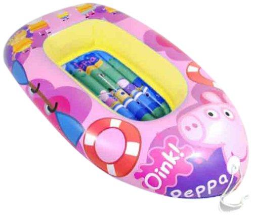 Peppa Pig - Barca Hinchable (Saica Toys 9115): Amazon.es: Juguetes ...