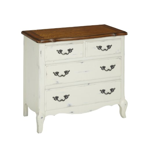 French Countryside Oak/White  Drawer Chest by Home Styles ()