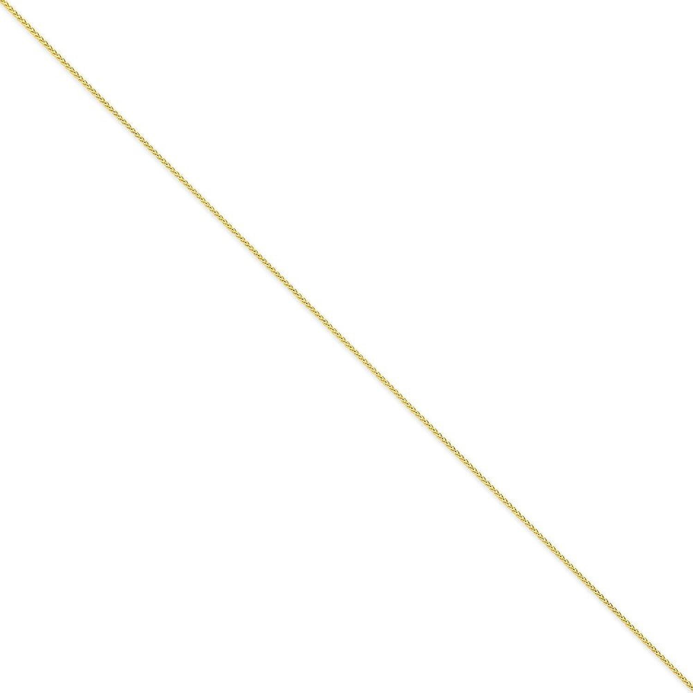 14k .95mm Parisian Wheat Chain 9