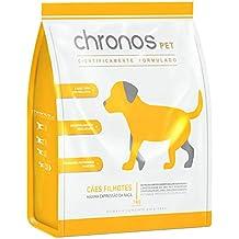 Ração Chronos Pet Super Premium para Cães Filhotes de Raças Pequenas Sabor Frango 1kg
