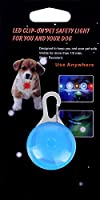 Waterproof SpotLit Dog/Cat Collar Light,FZR Legend Safety Dog Collar Led Light 6 Pack Bundle (Blue + Orange + Pink + Yellow + Red + Green) Dog Lights for Night Walking | Battery Included (Pack of 6)