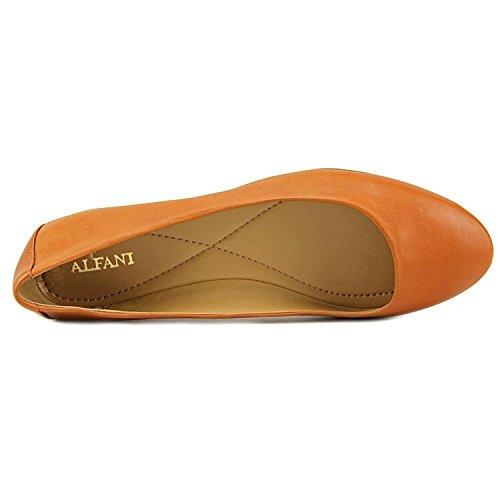 Alfani Womens Cognac Flats Gessey Closed Toe Womens Alfani Slide HwnqxRgw