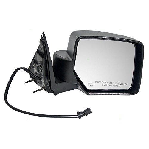 - Passengers Power Side View Mirror Heated Textured Replacement fits 08-12 Jeep Liberty SUV 57010078AF CH1321287 AutoAndArt
