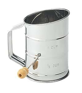 Generic LQ..8..LQ..2729..LQ nk Flou Stainless Steel up Stai 1-cup er, Crank Flour Baking Sifter, New US6-LQ-16Apr15-1426