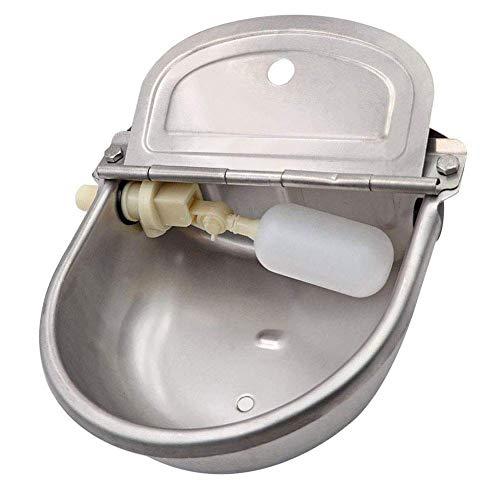MMonDod Stainless Steel Automatic Stock Waterer Horse Cattle Goat Sheep Dog Pig Livestock Float Valve Drinker Bowl by MMonDod (Image #3)