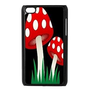 Custom Mushroom Back Cover Case for ipod Touch 4 JNIPOD4-560