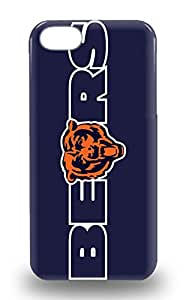 Slim New Design Hard 3D PC Soft Case For Iphone 5/5s 3D PC Soft Case Cover NFL Chicago Bears Logo ( Custom Picture iPhone 6, iPhone 6 PLUS, iPhone 5, iPhone 5S, iPhone 5C, iPhone 4, iPhone 4S,Galaxy S6,Galaxy S5,Galaxy S4,Galaxy S3,Note 3,iPad Mini-Mini 2,iPad Air )