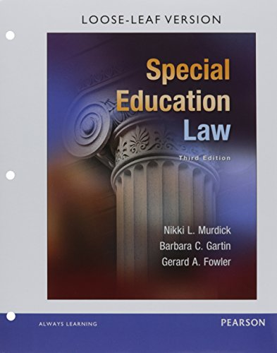 Special Education Law, Pearson eText -- Access Card
