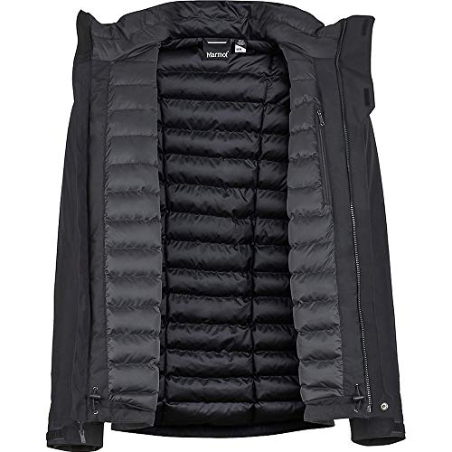 Featherless Children's 74650 Jacket Synergy Black Marmot PtfW66