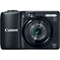 Canon PowerShot A1300 16.0 MP Digital Camera with 5x...