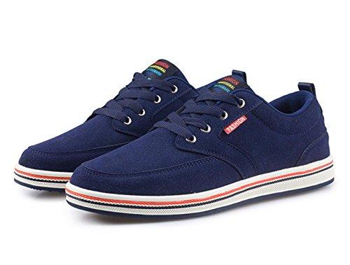 WZG Nueva Inglaterra zapatos zapatos de los hombres jóvenes de otoño mate zapatos casuales zapatos Blue