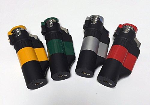 Hookah Triple Flame Lighter - Orange Hookah