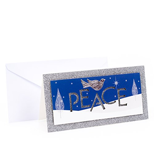 Hallmark Christmas Boxed Cards (Dove of Peace, 12 Christmas Greeting Cards and 13 Envelopes)