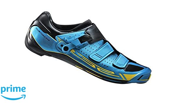 SHIMANO R321 - Zapatilla de Ciclismo Carretera para Hombre, Color Azul Cobalto, Talla 45: Amazon.es: Zapatos y complementos