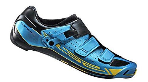 Shimano R321 - Zapatilla de ciclismo carretera para hombre, color azul cobalto