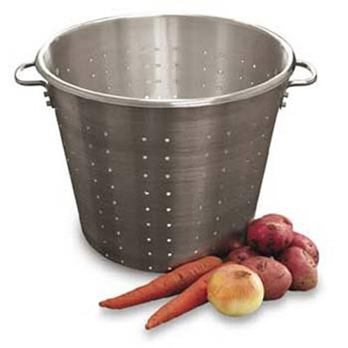 (Town Food Service Equipment Co 38017 Food and Vegetable Strainer - Aluminum, 87 Quart Capacity)
