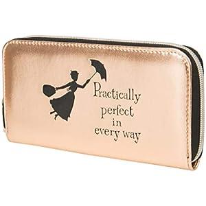 Mary Poppins Gifts Women Purses Ladies Wallet Rose Gold Disney Handbag